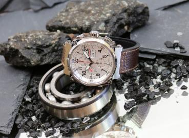 Formex Chronograph Pilot Speed Silver