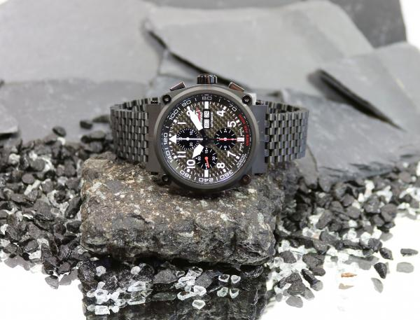 Formex Chronograph Pilot Speed Carbon Black Limited Edition